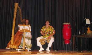Sylvia with Percussion